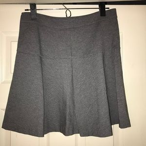 Gray Banana Republic Skater Skirt